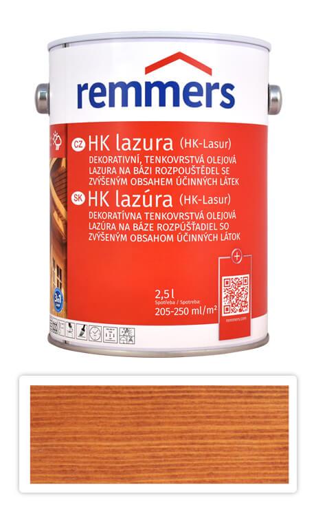 REMMERS HK lazura - ochranná lazura na dřevo pro exteriér 2.5 l Kaštan