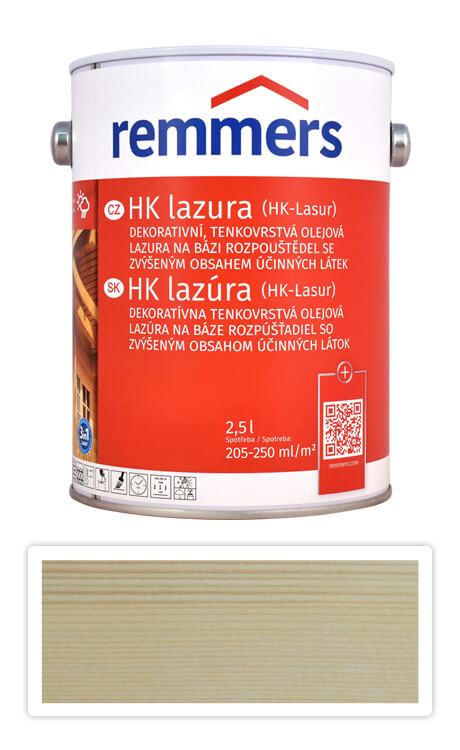 REMMERS HK lazura - ochranná lazura na dřevo pro exteriér 2.5 l Bezbarvá