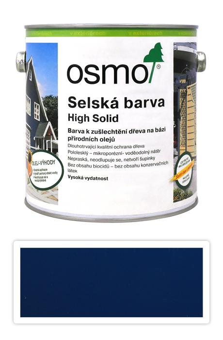 Selská barva OSMO 2.5l Královská modř 2506