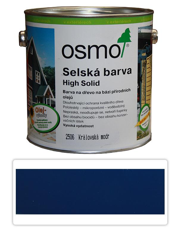 Selská barva OSMO 2.5l Královská modrá 2506