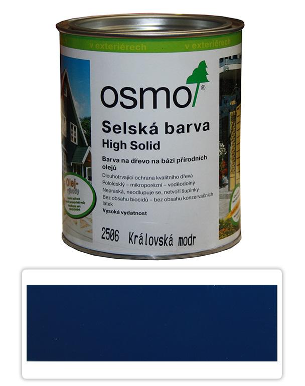 Selská barva OSMO 0.75l Královská modrá