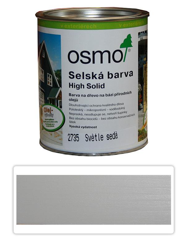 Selská barva OSMO 0.75l Světle šedá 2735