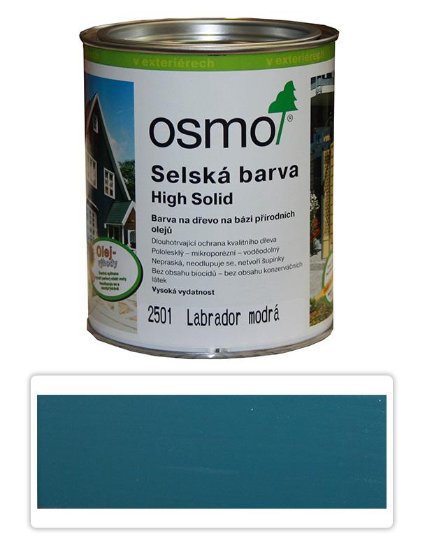 Selská barva OSMO 0.75l Labr. modrá 2501
