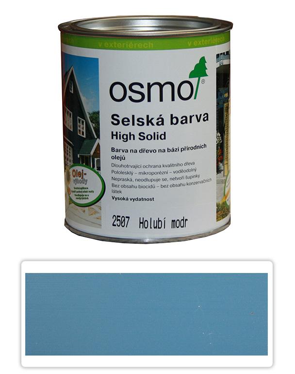Selská barva OSMO 0.75l Holubí modř 2507