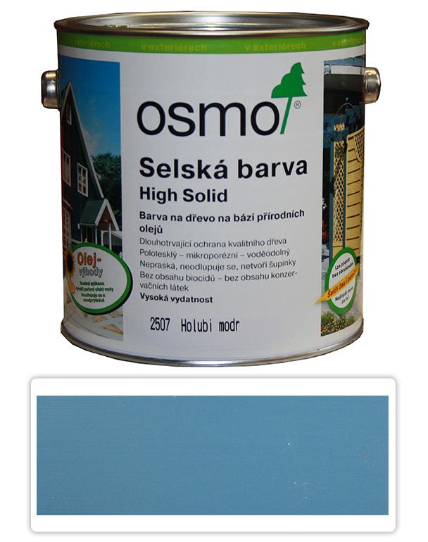 Selská barva OSMO 2.5l Holubí modř 2507