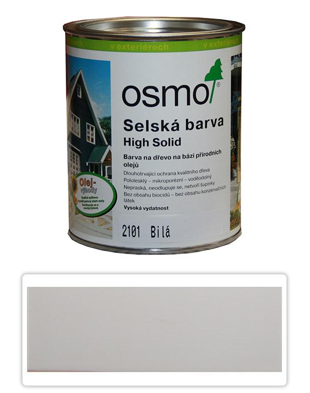 Selská barva OSMO 0.75l Bílá 2101
