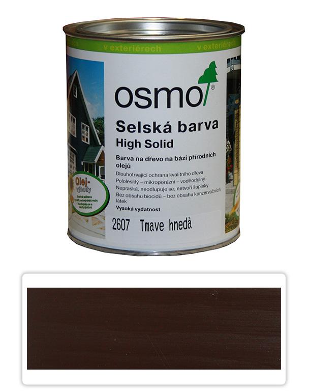 Selská barva OSMO 0.75l Tmavě hnědá 2607