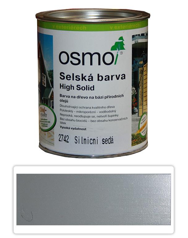 Selská barva OSMO 0.75l Silničně šedá 2742