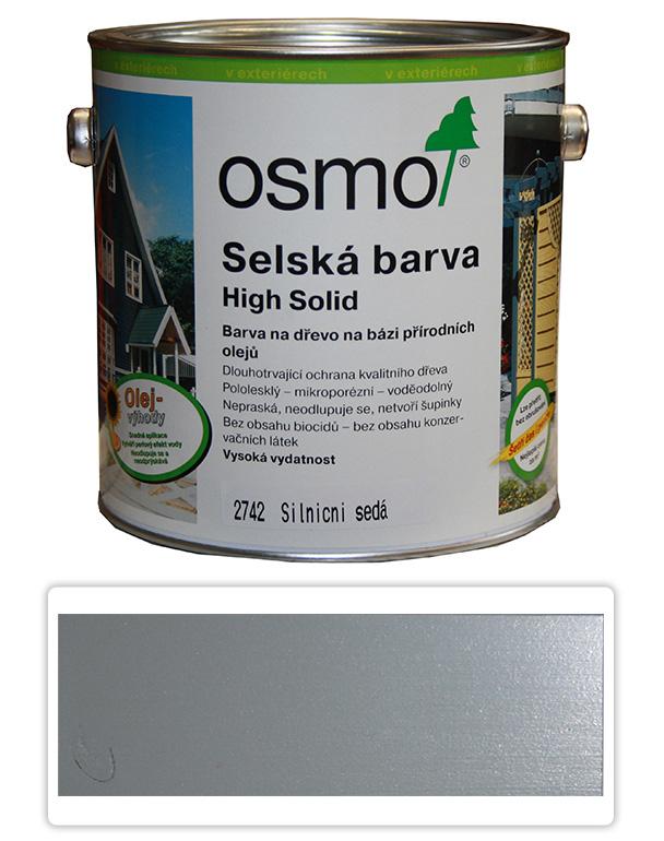 Selská barva OSMO 2.5l Silničně šedá 2742