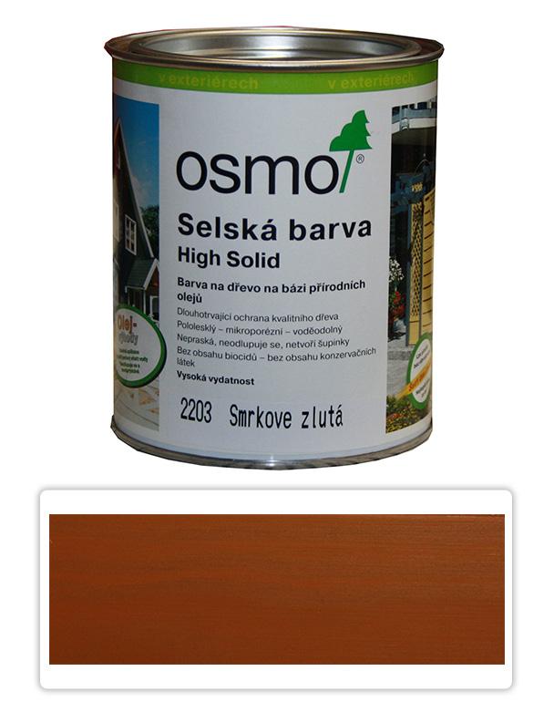 Selská barva OSMO 0.75l Žlutý smrk 2203