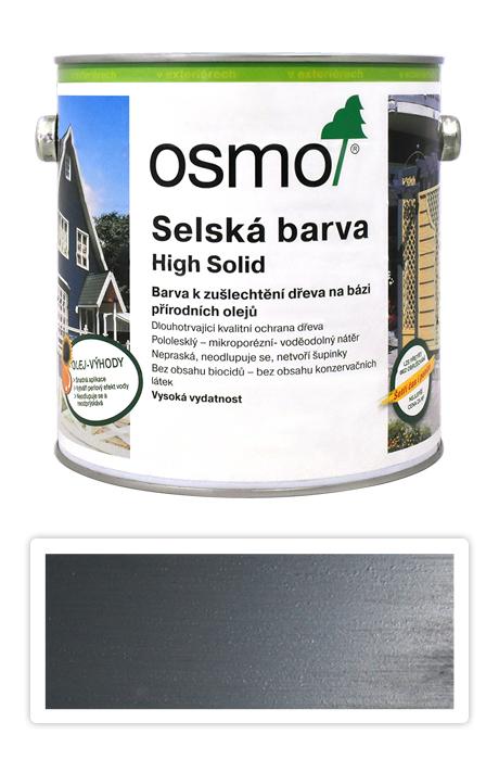 Selská barva OSMO 2.5l Kamenně šedá 2704