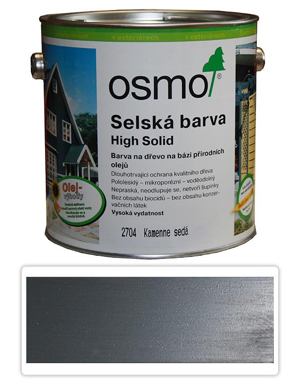 Selská barva OSMO 2.5l Kamenná šeď 2704
