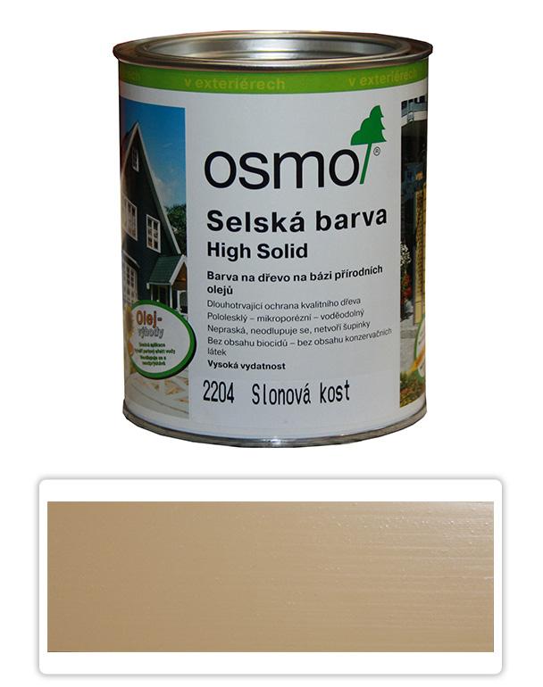 Selská barva OSMO 0.75l Slonovina 2204