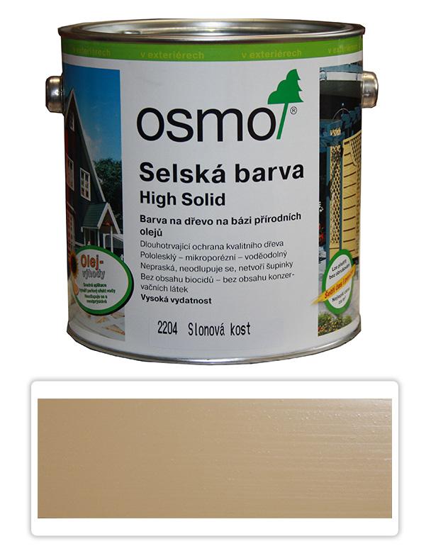 Selská barva OSMO 2.5l Slonovina 2204
