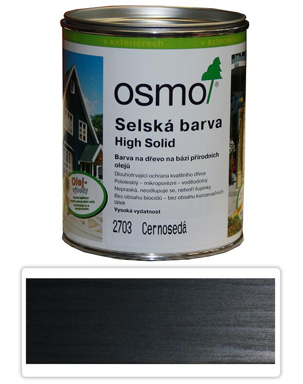 Selská barva OSMO 0.75l Černošedá 2703