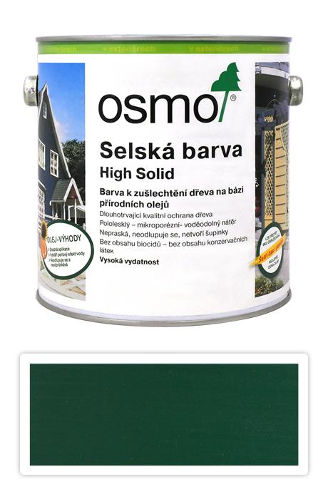 Selská barva OSMO 2.5l Jedlově zelená 2404