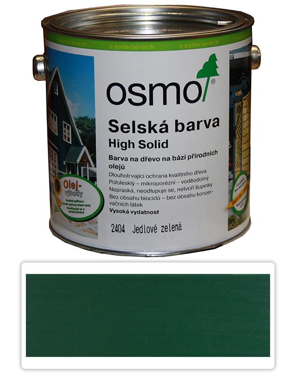 Selská barva OSMO 2.5l Jedlová zeleň 2404