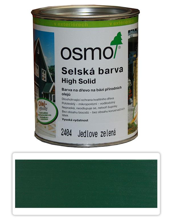 Selská barva OSMO 0.75l Jedlová zeleň 2404