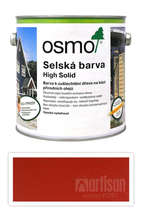 Selská barva OSMO 2.5l Karmínově červená 2311