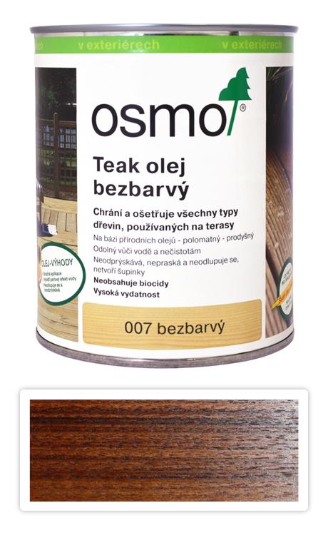 OSMO Speciální olej na terasy 0.75 l Teak bezbarvý 007