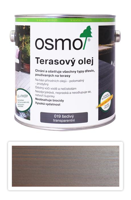 OSMO Terasový olej 2.5 l Šedý 019