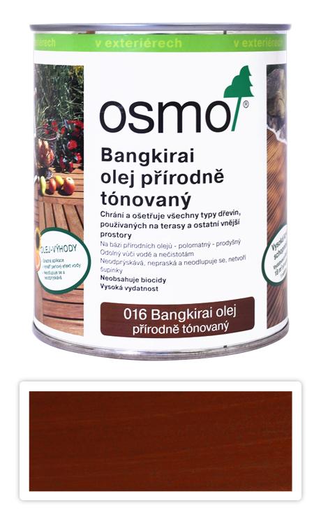 OSMO Speciální olej na terasy 0.75 l Bangkirai tmavý 016
