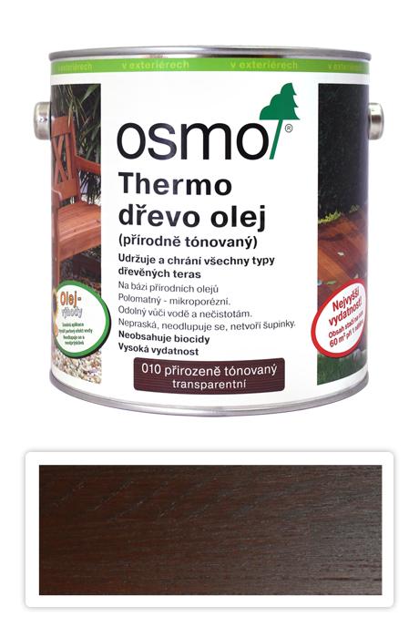 OSMO Speciální olej na terasy 2.5 l Thermo-dřevo 010