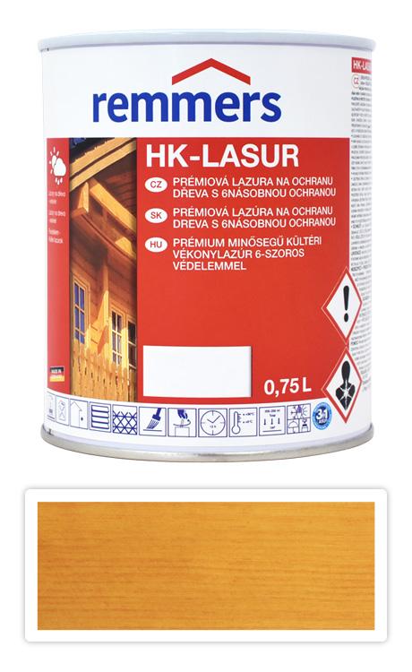 REMMERS HK-lasur - ochranná lazura na dřevo pro exteriér 0.75 l Dub světlý