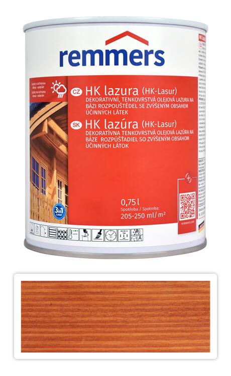 REMMERS HK lazura - ochranná lazura na dřevo pro exteriér 0.75 l Teak