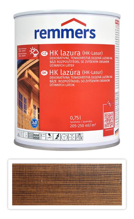 REMMERS HK lazura - ochranná lazura na dřevo pro exteriér 0.75 l Palisandr