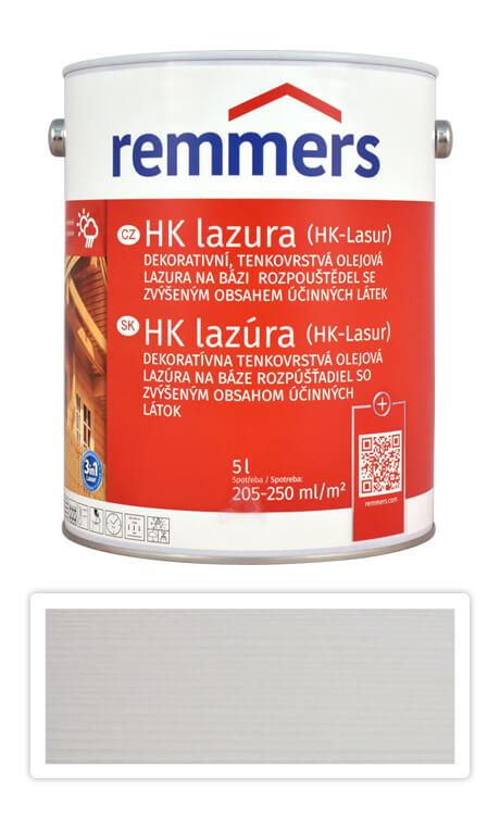 REMMERS HK lazura - ochranná lazura na dřevo pro exteriér 5 l Bílá
