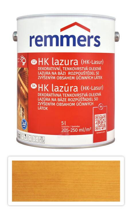 REMMERS HK lazura - ochranná lazura na dřevo pro exteriér 5 l Dub světlý