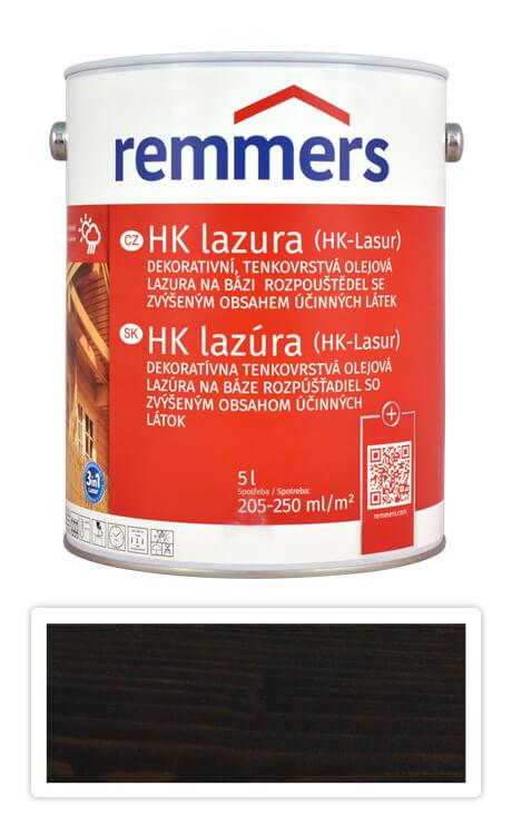 REMMERS HK lazura - ochranná lazura na dřevo pro exteriér 5 l Eben