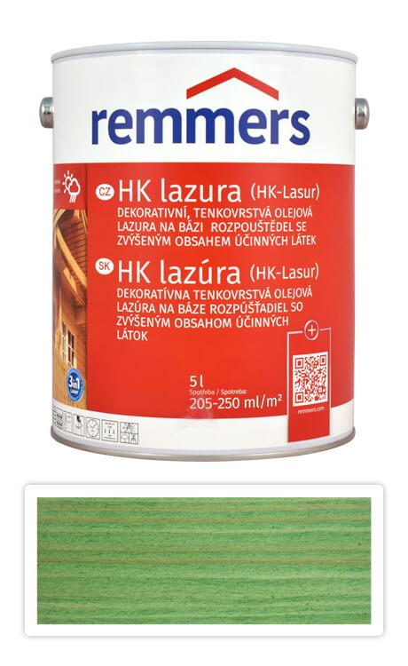 REMMERS HK lazura - ochranná lazura na dřevo pro exteriér 5 l Jedlově zelená