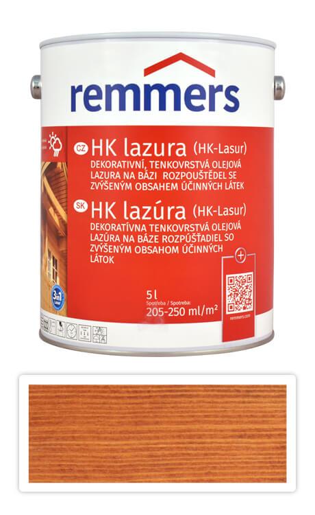 REMMERS HK lazura - ochranná lazura na dřevo pro exteriér 5 l Kaštan