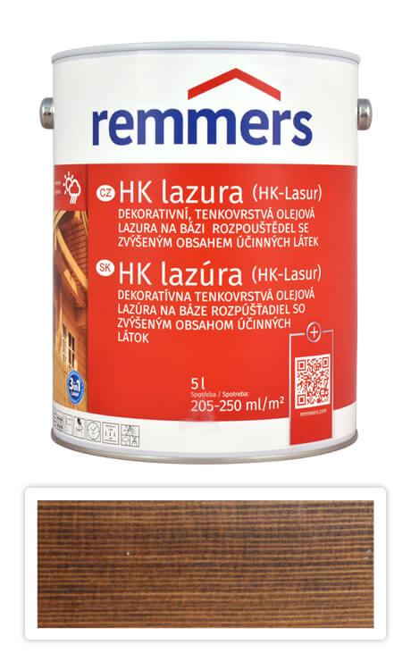 REMMERS HK lazura - ochranná lazura na dřevo pro exteriér 5 l Palisandr