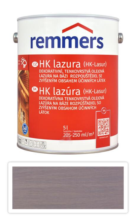 REMMERS HK lazura - ochranná lazura na dřevo pro exteriér 5 l Stříbrnošedá