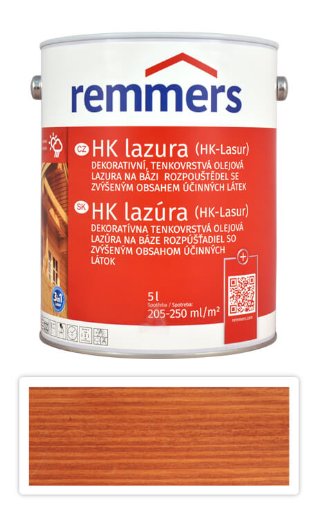 REMMERS HK lazura - ochranná lazura na dřevo pro exteriér 5 l Teak