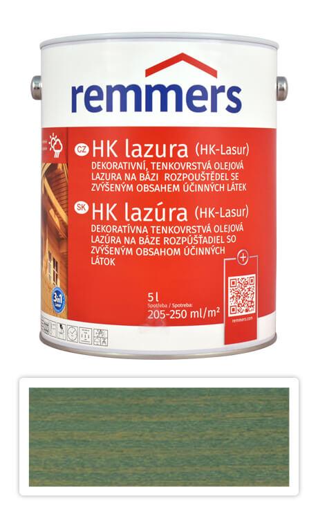 REMMERS HK lazura - ochranná lazura na dřevo pro exteriér 5 l Zelená sůl