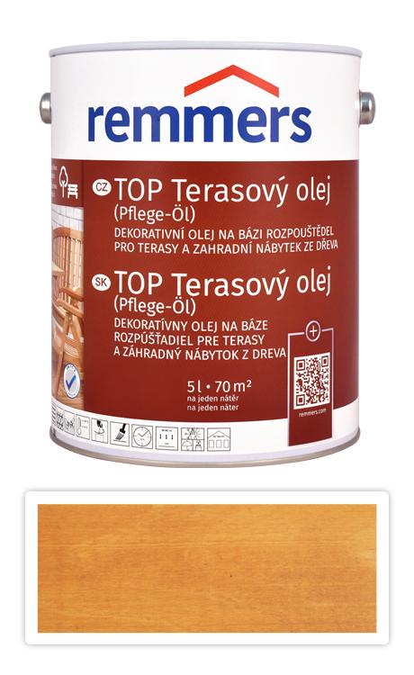 REMMERS TOP Terasový olej na bázi rozpouštědel 5 l Bangkirai