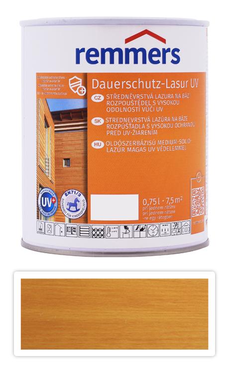 REMMERS Dauerschutz-lasur UV - dekorativní lazura na dřevo 0.75 l Dub světlý