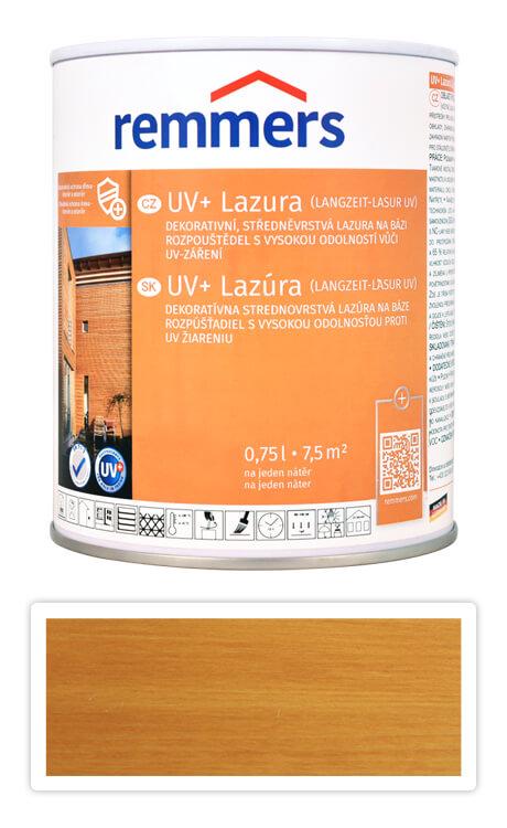 REMMERS UV+ Lazura - dekorativní lazura na dřevo 0.75 l Dub světlý