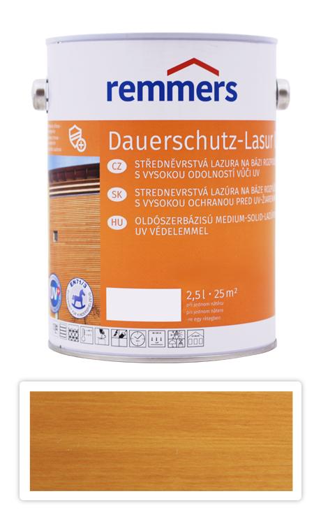 REMMERS Dauerschutz-lasur UV - dekorativní lazura na dřevo 2.5 l Dub světlý