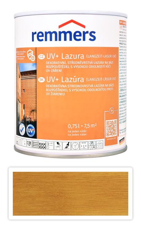 REMMERS UV+ Lazura - dekorativní lazura na dřevo 0.75 l Dub rustikální