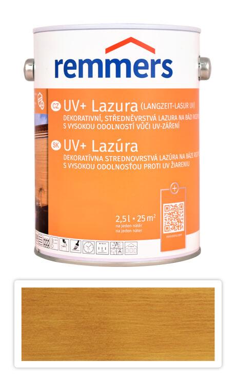 REMMERS UV+ Lazura - dekorativní lazura na dřevo 2.5 l Dub rustikální