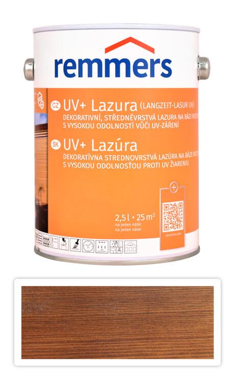 REMMERS UV+ Lazura - dekorativní lazura na dřevo 2.5 l Ořech