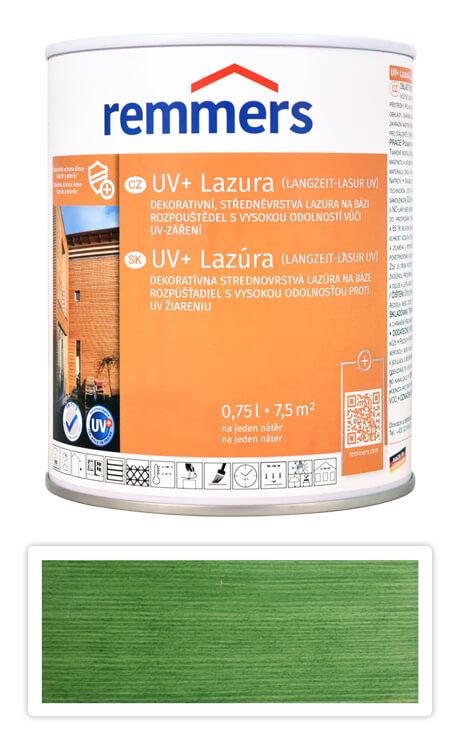 REMMERS UV+ Lazura - dekorativní lazura na dřevo 0.75 l Jedlově zelená