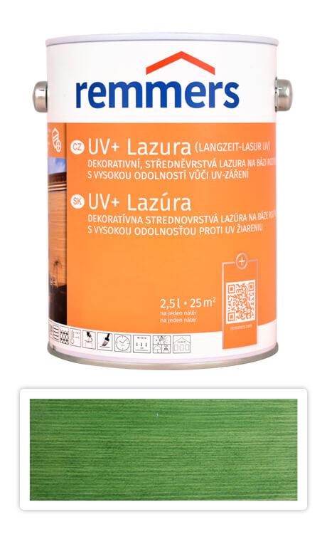 REMMERS UV+ Lazura - dekorativní lazura na dřevo 2.5 l Jedlově zelená
