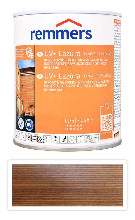 REMMERS UV+ Lazura - dekorativní lazura na dřevo 0.75 l Palisandr