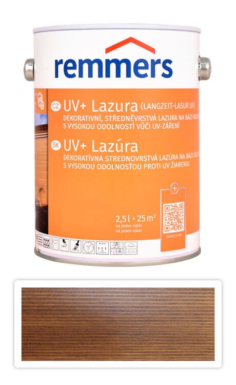 REMMERS UV+ Lazura - dekorativní lazura na dřevo 2.5 l Palisandr